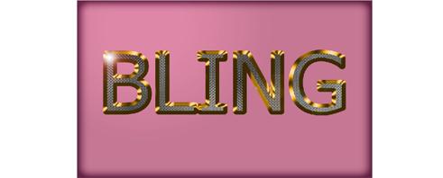 Bling Text Effect တစ္ခုကို ဖန္တီးျခင္း (3)